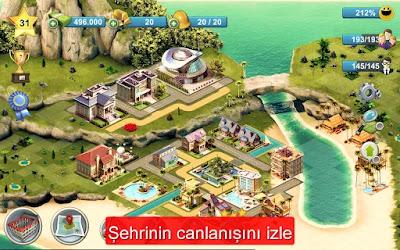 city island 4 mod apk hile indir