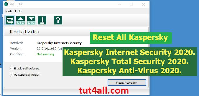 Tải về KRT CLUB v3.1.0.29 - Phần mềm kích hoạt bản quyền Kaspersky