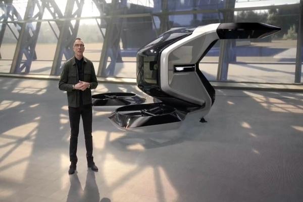 بالفيديو: شركة GM تكشف عن سيارة أجرة طائرة على هامش CES 2021