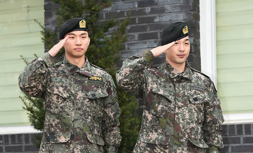 BIGBANG's Taeyang and Daesung Complete the Mandatory Military Today