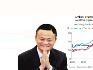 Jack Ma steps down as executive chairman of China's largest company