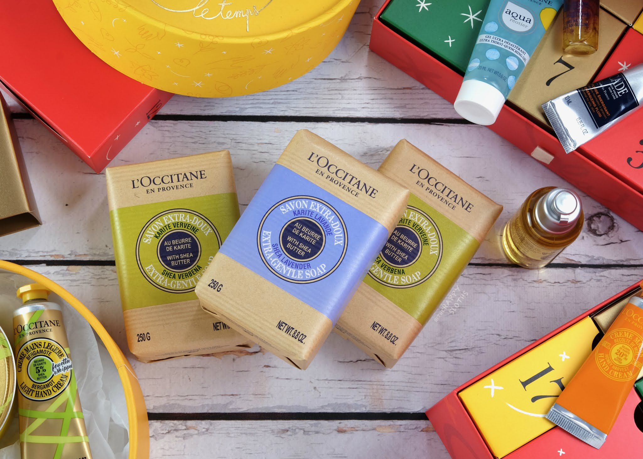 L'Occitane | Holiday 2020 'Tis the Season for Shea Soap Trio (C$42)