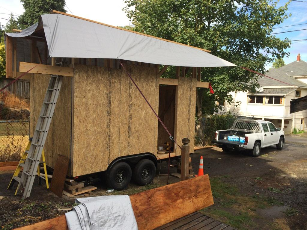 My 3rd Tiny House Robin Hoods Hideout Will Have A Rooftop Deck