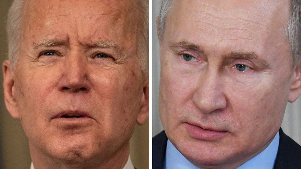 The Russian President said - in the case of the US President, discuss with me online, so that the people of the two countries can see him too.