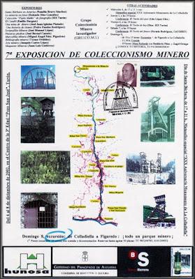 exposición, cartel, coleccionismo, minero