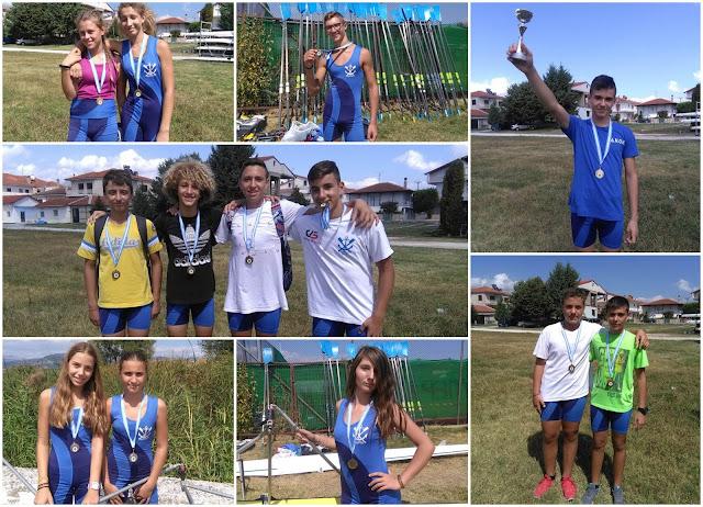 Ναυταθλητικός Όμιλος Ηγουμενίτσας: 7 μετάλλια στο Πανελλήνιο Πρωτάθλημα Ανάπτυξης στο Μαυροχωρι