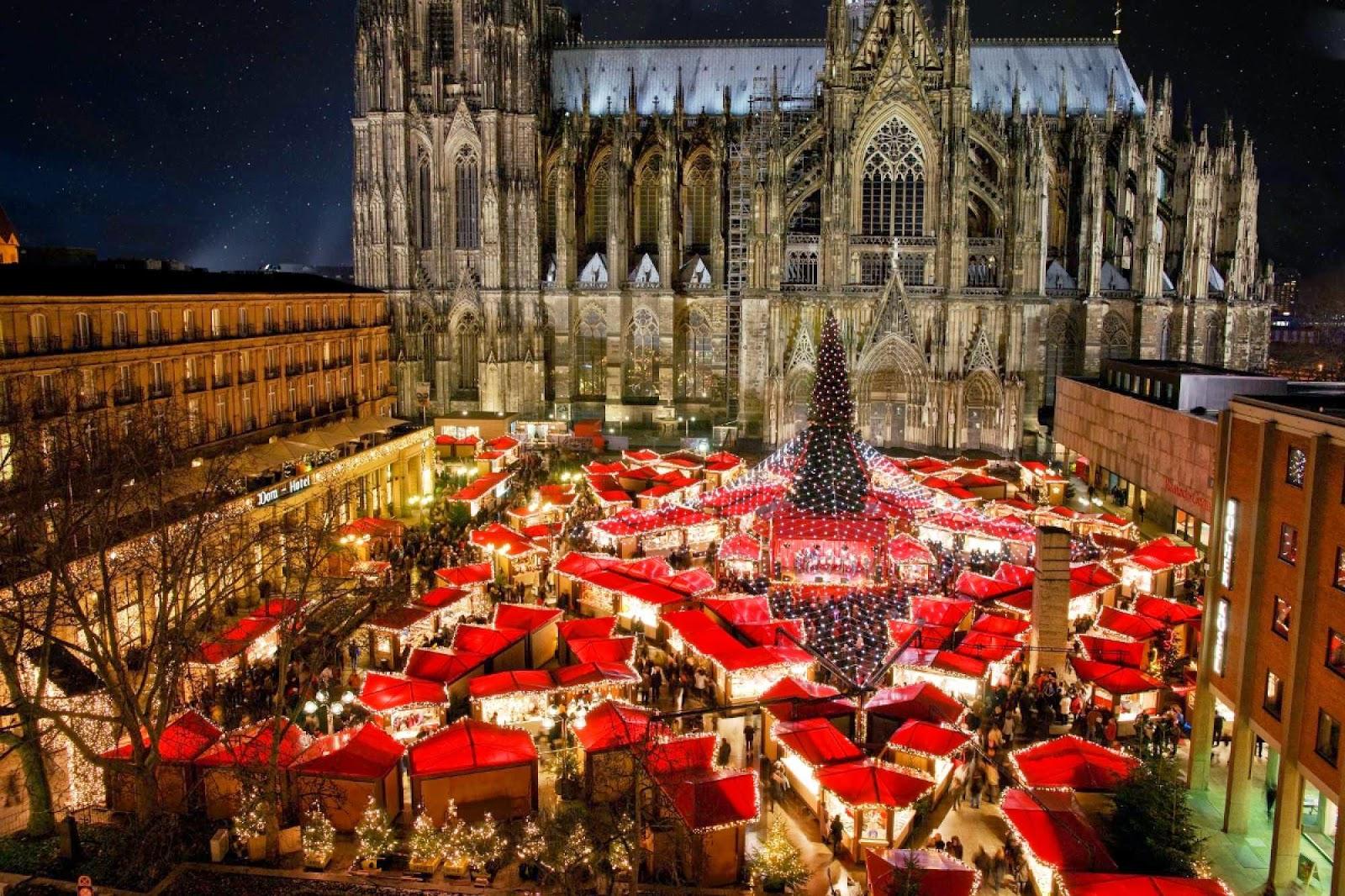 Toll! Naar de kerstmarkt in Duitsland