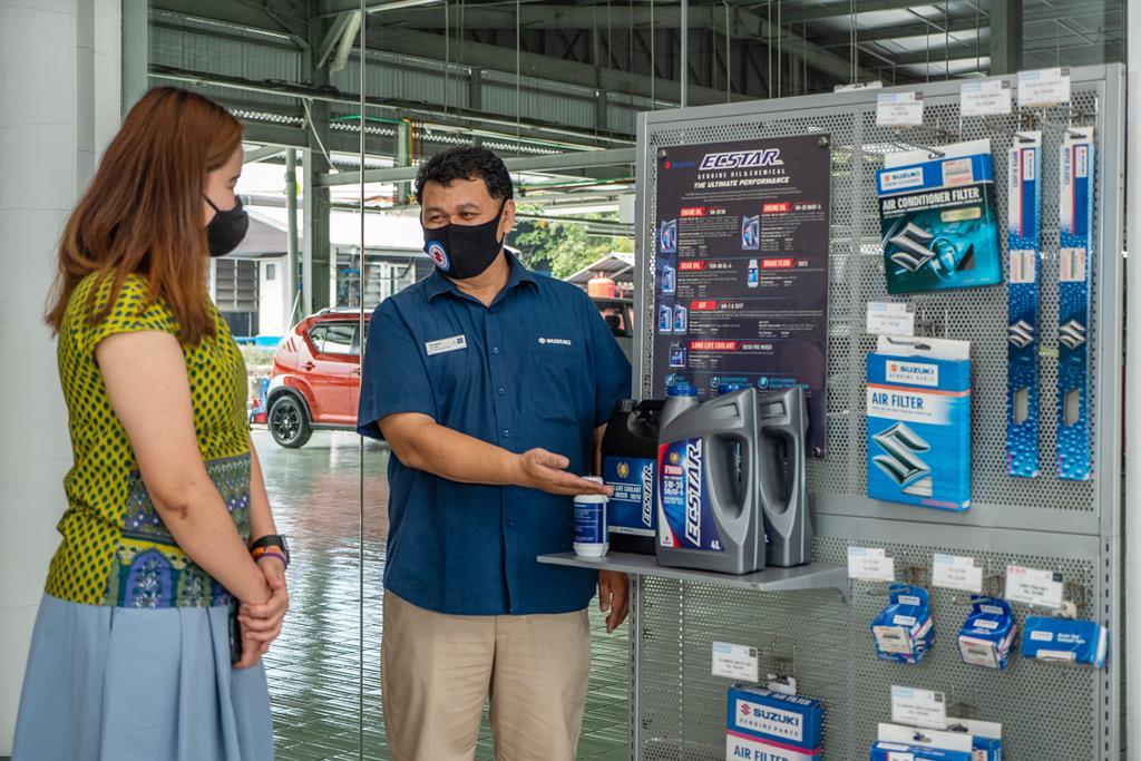 Penjualan Suku Cadang Suzuki Lampaui Target