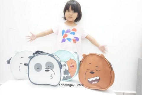 pouch beg We Bare Bears Limited Edition, Safi SHAYLA, SCalp treatments, haircare, Hair treatment