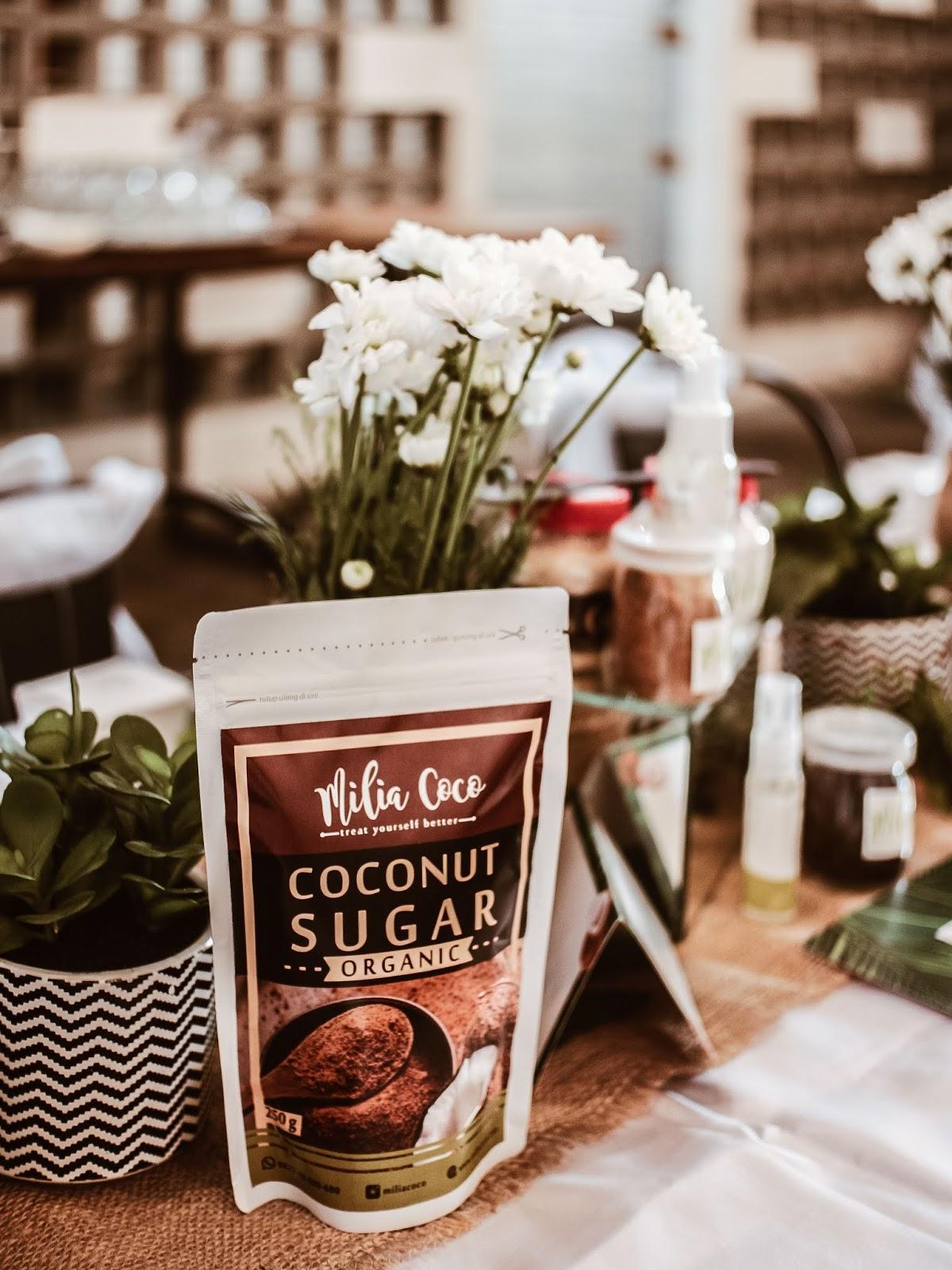 milia coco coconut sugar