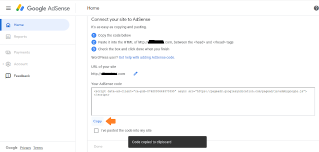 How To SignUp/Apply For Google AdSense & Add AdSense Code In WordPress Website 15