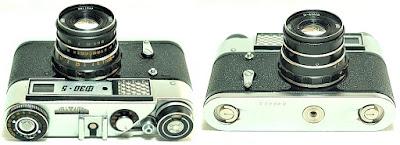 Fed 5 #435, Industar-61 L/D 53mm F2.8 #947