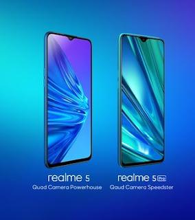 Realme 5 and Realme 5 Pro Smartphones Launched In India With Quad Rear Camera Setups: Price and Specifications In Telugu