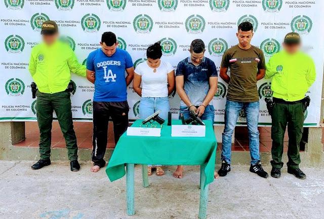 En Maicao Policía desmanteló a  'Los Prame', indiciados de hurto, extorsión, homicidios y narcotráfico