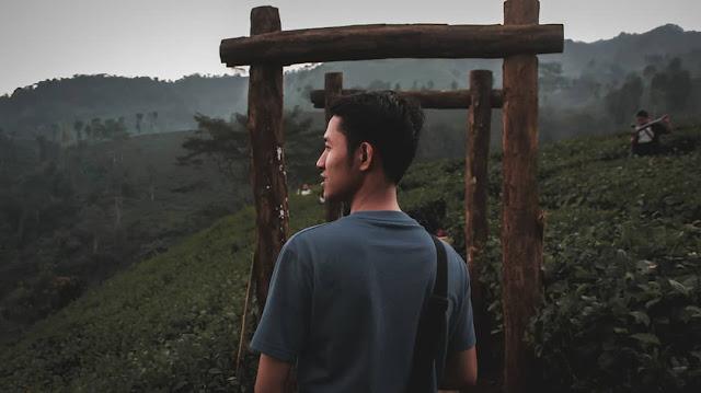 Spot Foto Di Kebun Teh Gunung Gambir