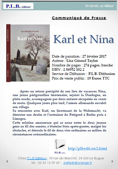 https://www.amazon.fr/Karl-Nina-Lisa-Giraud-Taylor/dp/2869521022/ref=sr_1_1?ie=UTF8&qid=1489611983&sr=8-1&keywords=karl+et+nina
