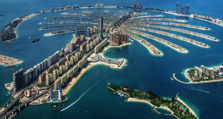 Palm Jumeirah Island - Dubai