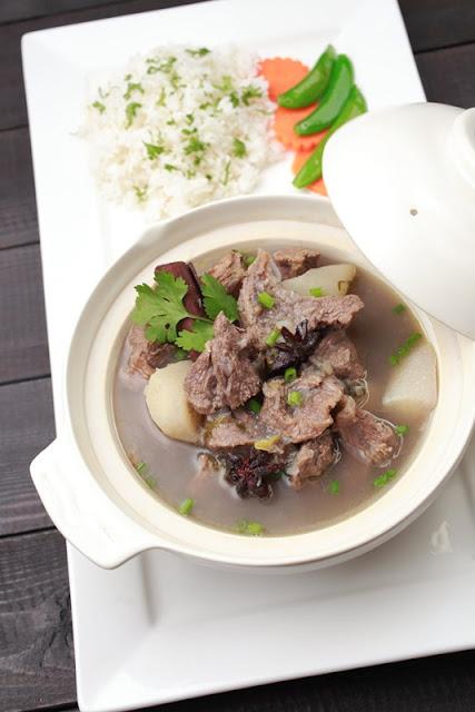 Beef & Radish Stew