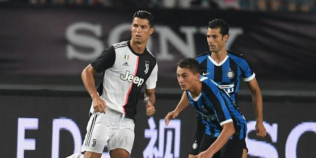 Gol Cristiano Ronaldo ke Gawang Inter Milan Layak Dianulir?