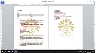 Membuat Efek Watermark di Ms Word