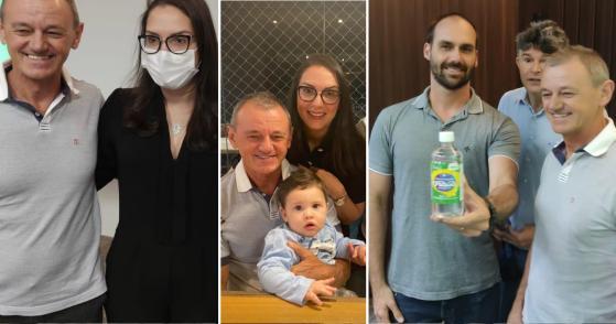 Janaina e Dilceu podem ter apoio de Bolsonaro em 2022