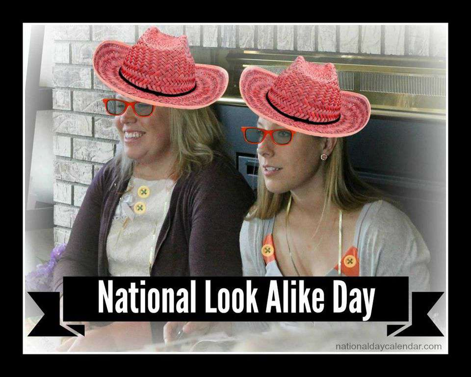 National Look-Alike Day Wishes Images download