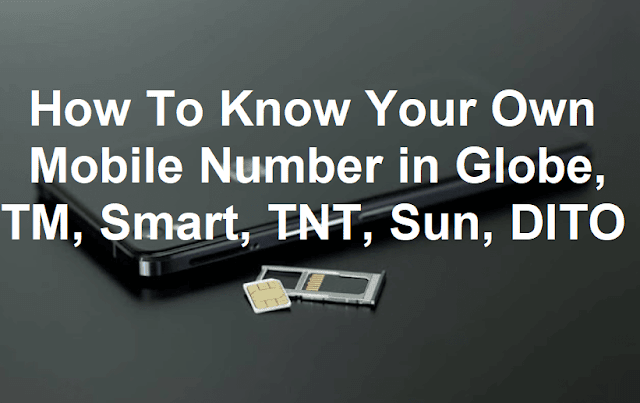 How To Know Your Own Mobile Number