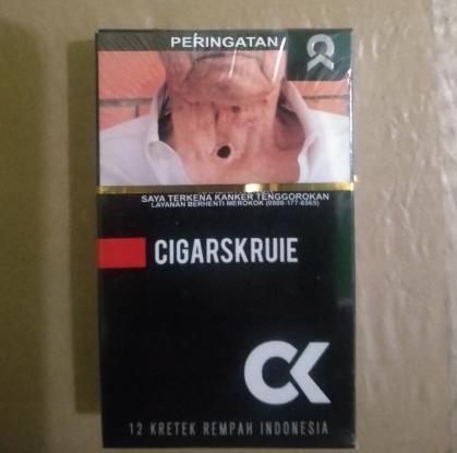 Harga Rokok Kretek Cigarskruie CK Per Bungkus