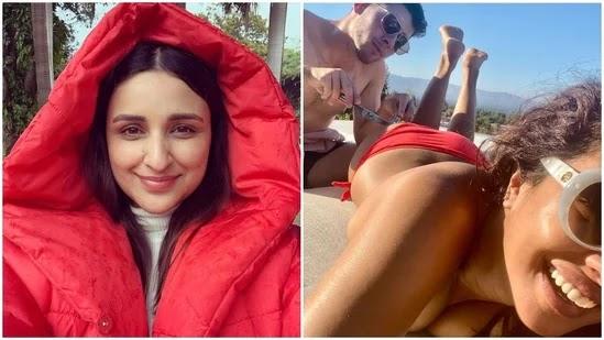 On Priyanka Chopra, Nick Jonas' cheeky pic, Parineeti Chopra reminds them 'the family is on Instagram'
