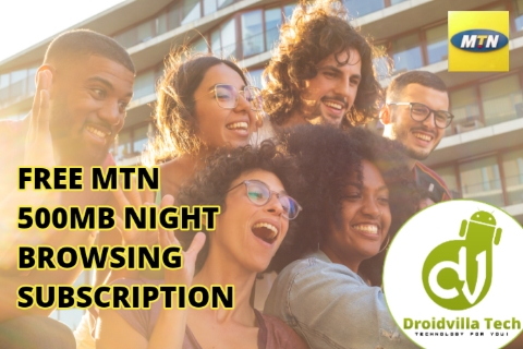 Free 500mb mtn night subscription