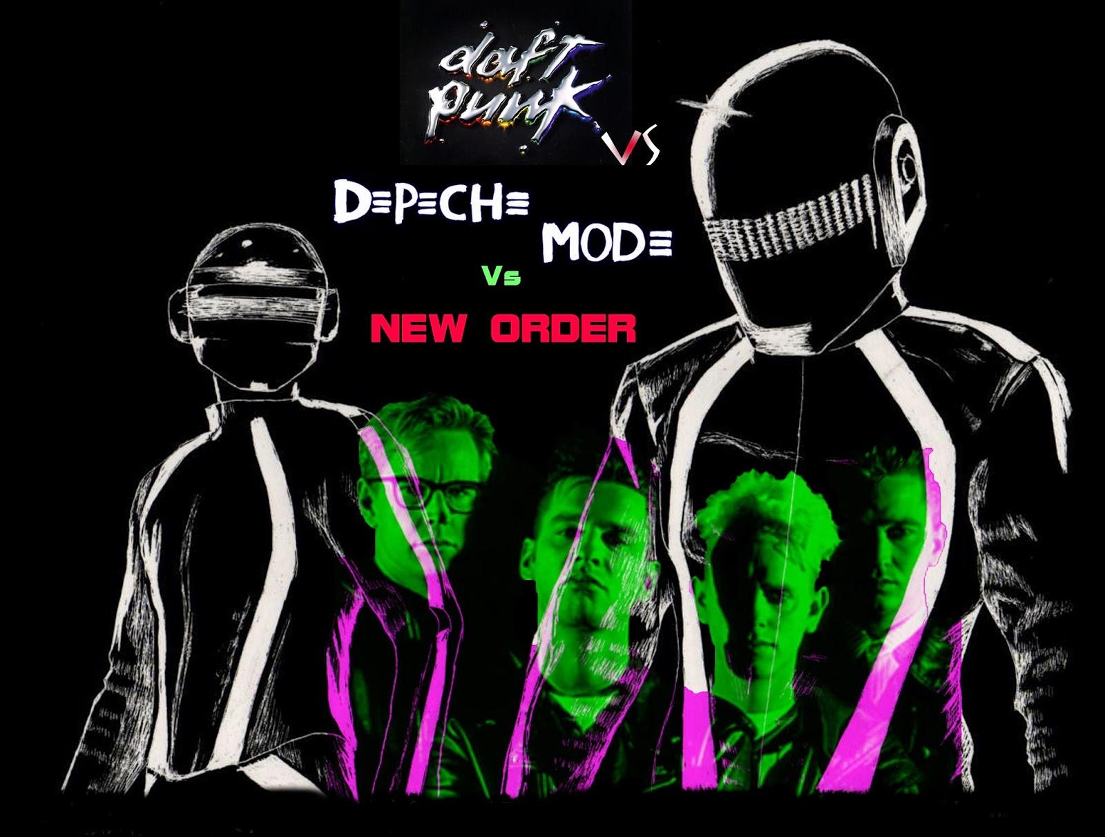 RETRO DISCO HI-NRG: New Order vs Depeche Mode vs Daft Punk
