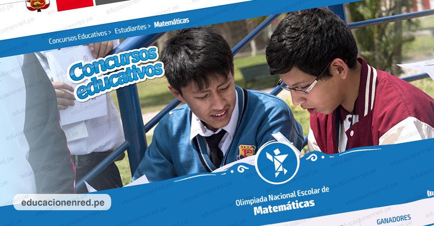 RESULTADOS ONEM 2019: Conoce a los mejores estudiantes en matemática del país. Etapa nacional de la Olimpiada Nacional Escolar de Matemática
