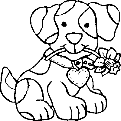coloring in pages of dogs | best coloring page dog: September 2012