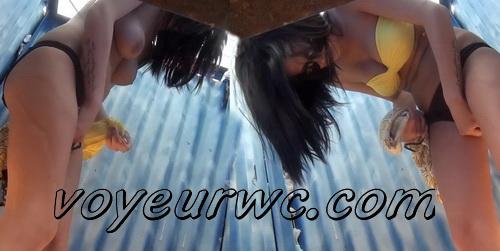 Beach Cabin 2268-2275 (Spy Cam - Best scenes of nude amateur body in beach change cabin)