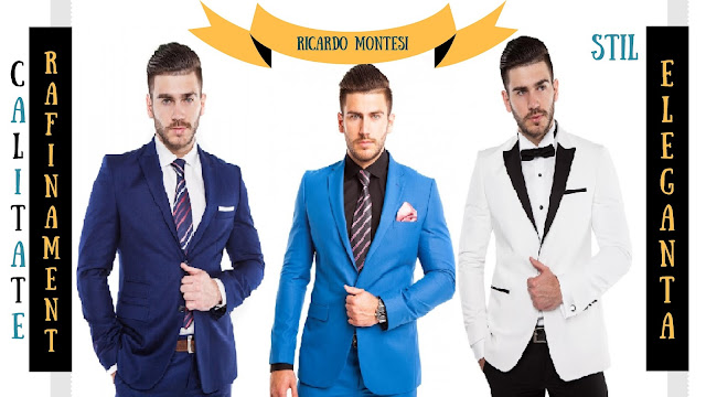Costume Ricardo Montesi pentru bărbați