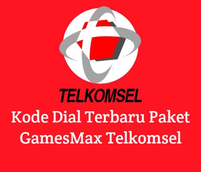 Kode Dial Terbaru Paket GamesMax