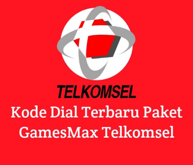 Kode Dial Terbaru Paket GamesMax Telkomsel 30GB 25rb