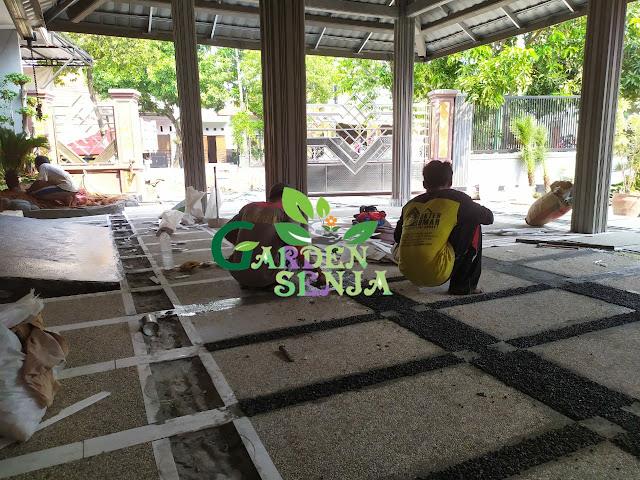 Tukang batu sikat sragen