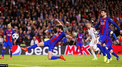ريمونتادا برشلونة ضد باريس سان جيرمان