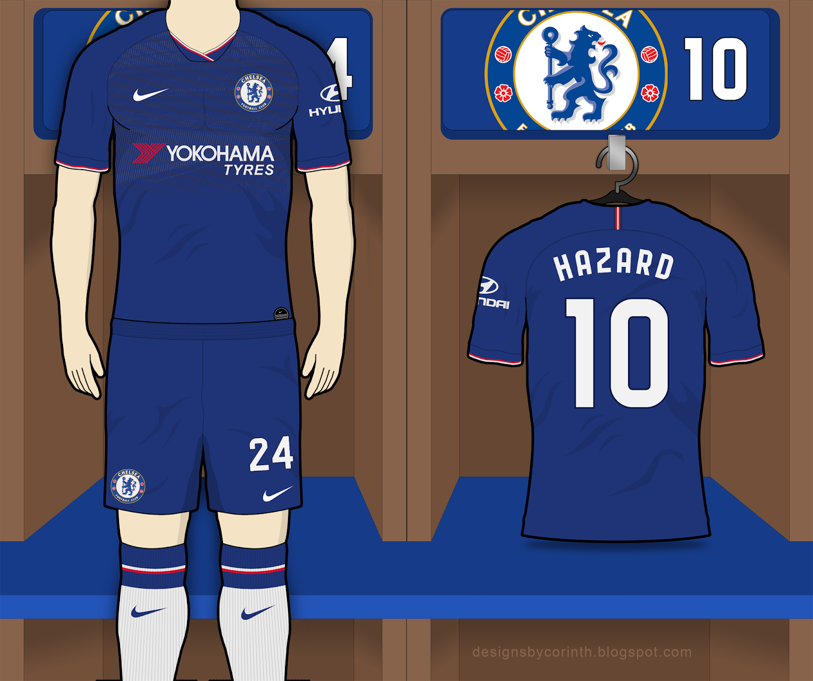 super popular 0dbc1 ba7b7 Chelsea 2019-20 Home Kit Prediction (according to leaks)