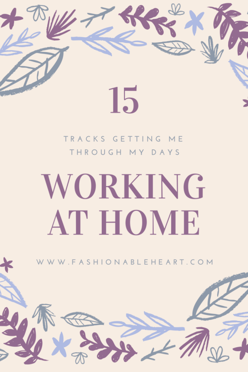 canadian beauty bloggers, working from home playlist, music, blogger, lifestyle, work day