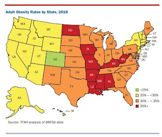 Adult obesity in Ky. reaches all-time high of 36.6%, fifth in U.S.; doctor says insurance needs to start covering obesity prevention