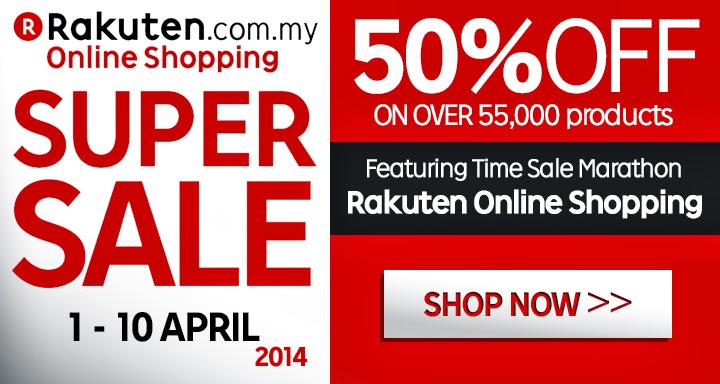 Rakuten, Rakuten Biggest Super Sale, Online Shopping, Tokichoi, Bagstation, Alfrado, Poh Kong, Luvclo, PGmall, Crocs, Rakuten Happy Panda, Siper points