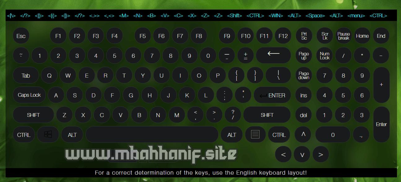 Tes Keyboard Online