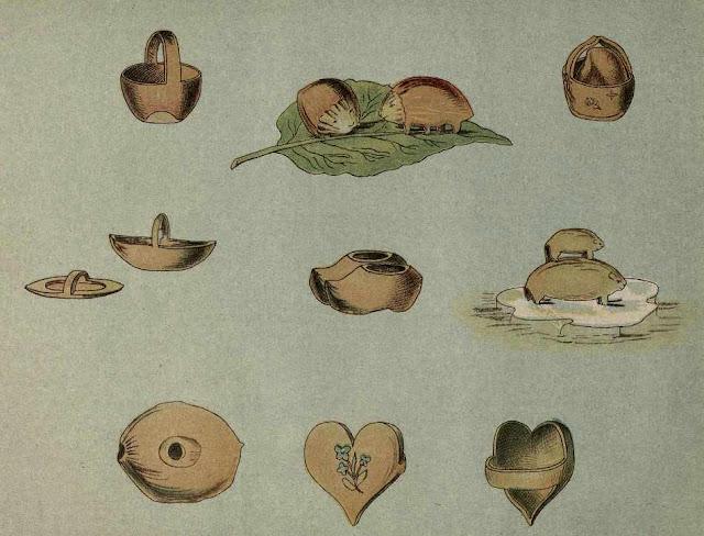 поделки из орехов
