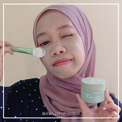 N'Pure Cica Chocomint Claymask