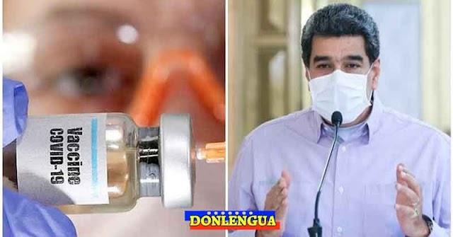 Maduro solo dejará entrar las vacunas si él las puede repartir a su antojo