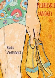 Niebieskie sandały - Wanda Szymanowska