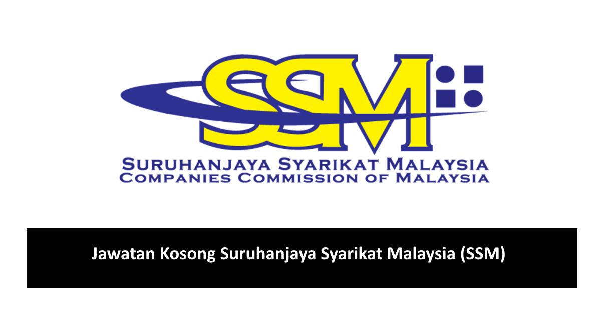 Jawatan Kosong Suruhanjaya Syarikat Malaysia Ssm Oktober 2020