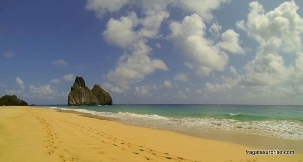 Praia da Cacimba do Padre e Morros Dois Irmãos, Fernando de Noronha